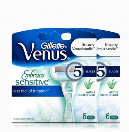 Venus Embrace Sensitive 12 blader